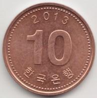@Y@    Zuid Korea  10 Won   2013          (3909) - Coreal Del Sur