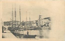 66-309  CPA  PORT VENDRES   Quai De L'obélisque   ANIMATION  Belle Carte - Port Vendres