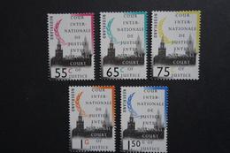 Nederland NVPH Cour Internationale De Justice D48 D50 D52 D54 D55 - Officials