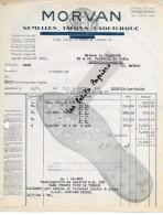58 - Nièvre - CHATEAU-CHINON - Facture MORVAN - Semelles, Talons, Caoutchouc – 1948 - REF 251A - France