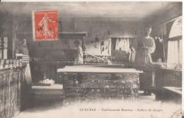 76 Gueures  Etablissement Bourdon Atelier De Cierges - France