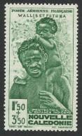 Wallis And Futuna, 1.50 + 3.50 F. 1942, Sc # CB1, MH - Wallis And Futuna