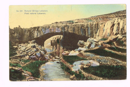 Natural Bridge Lebanon - Pont Naturel Lebanon - Liban - Liban