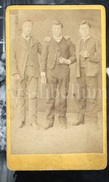 Photo-carte De Visite / CDV / Garçons / Boys / 2 Scans / 1873 / Louis Paquet / Jean Favier / François Seux - Personnes Identifiées