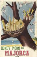HONEY MOON IN MAJORCA - VOYAGE DE NOCE A MAJORQUE - Mallorca