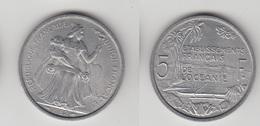 ETABLISSEMENT FRANCAIS DE L'OCEANIE - 5 FRS 1952 TTB+ - Monnaies