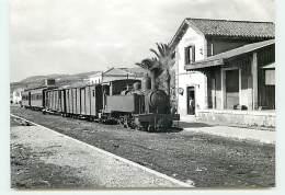Arrivée D'un Train Pour Vélez à Rincon De La Victoria - Málaga