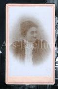 Photo-carte De Visite / CDV / Jeune Femme / Young Woman / 2 Scans / P. Massin / 1897 - Personnes Identifiées