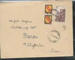 Lettre Avec N° 763 + Paire N° 757 De Chartres 07/01/1948 Pour La Suisse - Postmark Collection (Covers)