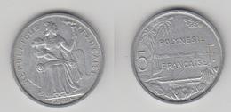 POLYNESE FRANCAISE - 5 FRS 1965 TTB+ - French Polynesia