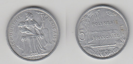 POLYNESE FRANCAISE - 5 FRS 1965 TTB+ - Polynésie Française