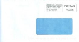 Frankreich Roissy Port Paye Prioritaire - Poststempel (Briefe)