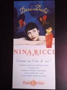 Deci Delà De NINA RICCI - Perfume Cards
