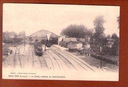 1 Cpa 40 DAX - La Gare, Passage Du Sud-Express - Dax