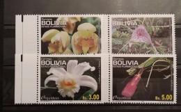Bolivia, 2012, Flora: Orchids (MNH) - Orchids