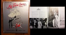 Souvenir Book - My Fair Lady. Theatre Royal Drury Lane. 1958 (Rex Harrison, Julie Andrews) - Livres, BD, Revues
