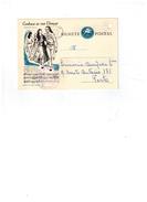 Entier Postale Du Portugal - Fandango Poveiro  20/06/1963 - Evora - Marcophilie