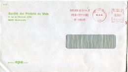EMA Agriculture Maîs,alimentation Confiserie,chimie Glucose,Société Des Produits Du Maîs Haubourdin,lettre 30.8.1984 - Agriculture