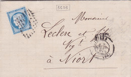 606-  LAC - CERES 60 -   POITIERS  -  NIORT - Postmark Collection (Covers)