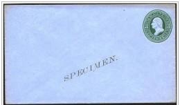 Stat Uniti/United States/États Unis: Specimen, Intero, Stationery, Entier, George Washington