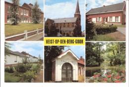 """Groeten Uit Heist-op-den-Berg-Goor (Mechelen)-Multivues-De Kerk-Kapel """"Ik Ben De Onbevlekte""""... - Heist-op-den-Berg"""