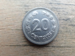 Equateur  20  Centavos  1978  Km 77 - Equateur