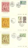 MATASELLOS  1962 VILANOVA I LA GELTRU  JUEGO OFICIAL  SERIE CID - 1961-70 Briefe U. Dokumente