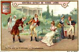 CHROMOS LIEBIG  LA VIE SOUS LA DIRECTOIRE  LA  PRESENTATION - Liebig