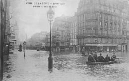 75 Paris Crue De La Seine Janvier 1910 Rue De Lyon - France