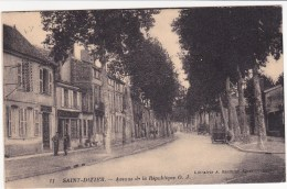 Saint Dizier ,avenue De La République,voitures - Saint Dizier