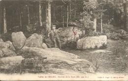 88 - Vallée De CELLES - Roches De La Soye - Animée - C. Aubry - Frankrijk