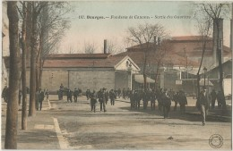 Bourges Fonderie De Canons Sortie Des Ouvriers - Bourges