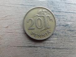 Finlande  20  Pennia  1963  Km 47 - Finlande