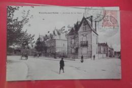 C P Romilly Sur Seine Avenue De La Gare Glacé - Romilly-sur-Seine