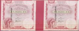 LOTERIE NATIOALE--1933--2 Billets Entiers--2° Tranche 100 F--numeros Se Suivant - Biglietti Della Lotteria