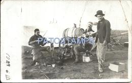 61847 ARGENTINA COSTUMES MAN'S TOMANDO MATE & BANDONEON BREAK POSTAL POSTCARD - Argentina