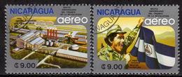 NICARAGUA 1985 - MiNr: 2597-2598 Komplett  Used - Nicaragua
