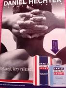 Cartes Parfumée HECHTER SPORT De DANIEL HECHTER - Parfumkaarten