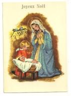 Joyeux, Noël. Vierge Marie Et Enfant Jésus, Petit Ange, Oiseaux. Krüger - Noël