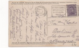 3089    Postal Belgica, Bruxelles, Brussel 1922, - Bélgica