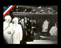 12 - RODEZ - Visite De Mitterrand - 1982 - Politique - Rodez