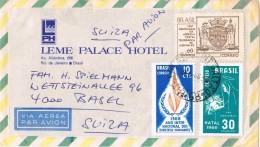 20175. Carta  Aerea RIO De JANEIRO (Brasil) 1968 A Suisse - Brasil