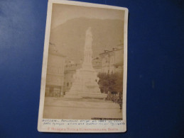 Photo - BOLZANO - BOTZEN - MONUMENT WALTHER -  Format : 16 X 11 Cm    (no Postcard) - Bolzano (Bozen)