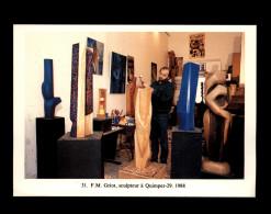 29 - QUIMPER - GRiot Sculpteur - 1988 - Quimper