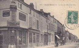 SAINT DIZIER  Rue De L Hotel De Ville - Saint Dizier
