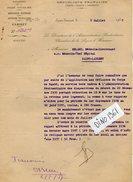 VP6402 - Colonies Française - GUYANE - Lettre Du Directeur De L'Adminstration Pénitentiaire De SAINT LAURENT DU MARONI - Documents Historiques