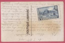 Sur Carte Fantaisie--Vignette L'Enfance Cooperative-1 F-Maison Heureuse A Boyardville--par Enveloppe 1916 - Other