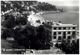 ALASSIO (SAVONA) - ALBERGO BEL SOGGIORNO - VG 1949 - Savona