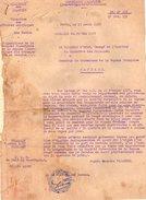 VP6408 - Colonies Française - PARIS - Lettre Du Ministre D'Etat  à Mr Le Gouverneur De La GUYANE Française à CAYENNE - Documents Historiques