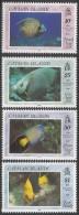 1990 Cayman Islands  Fish Angel French Complete Set Of 4    MNH - Kaimaninseln